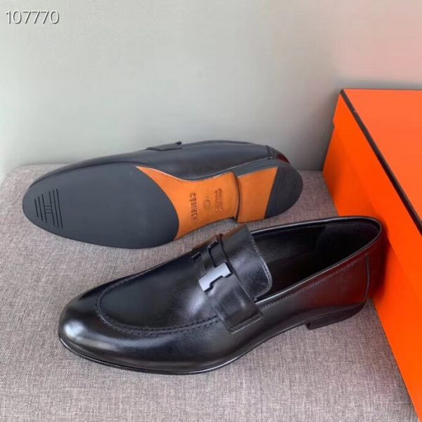 giày nam hermes siêu cấp