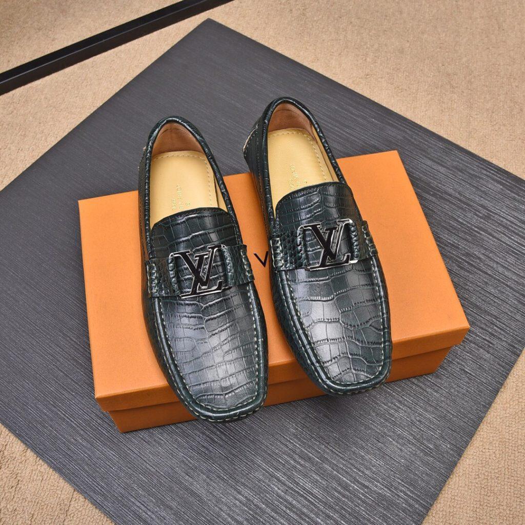 giày lười LV VIp