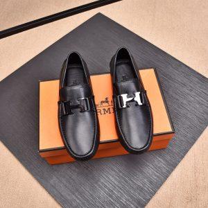 Giày lười nam Hermes siêu cấp