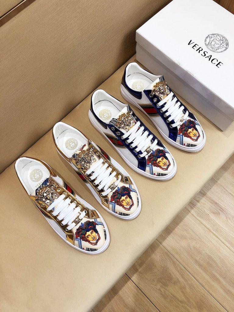 Giày nam Versace
